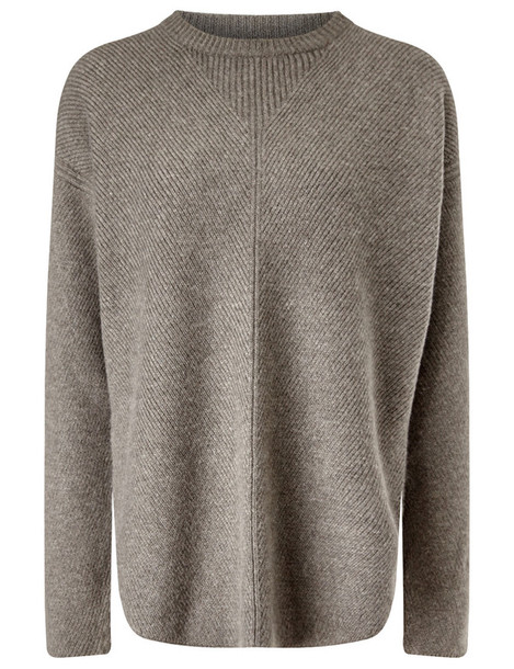 Alexander Wang jumper oversized wool grey