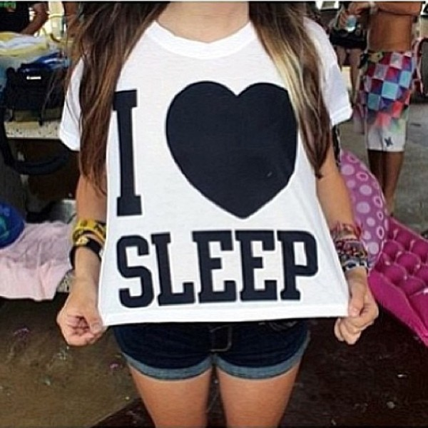 t-shirt top sleep crop tops black white heart