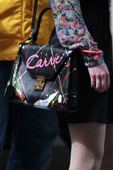 carrie bradshaw bag diy the carrie diaries