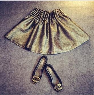 skirt dress gold sequins style classy mini skirt pleated skirt pants shorts