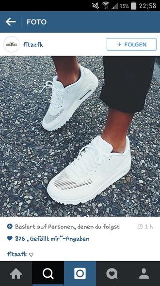 shoes nike air nike nike shoes white white shoes sporty cool