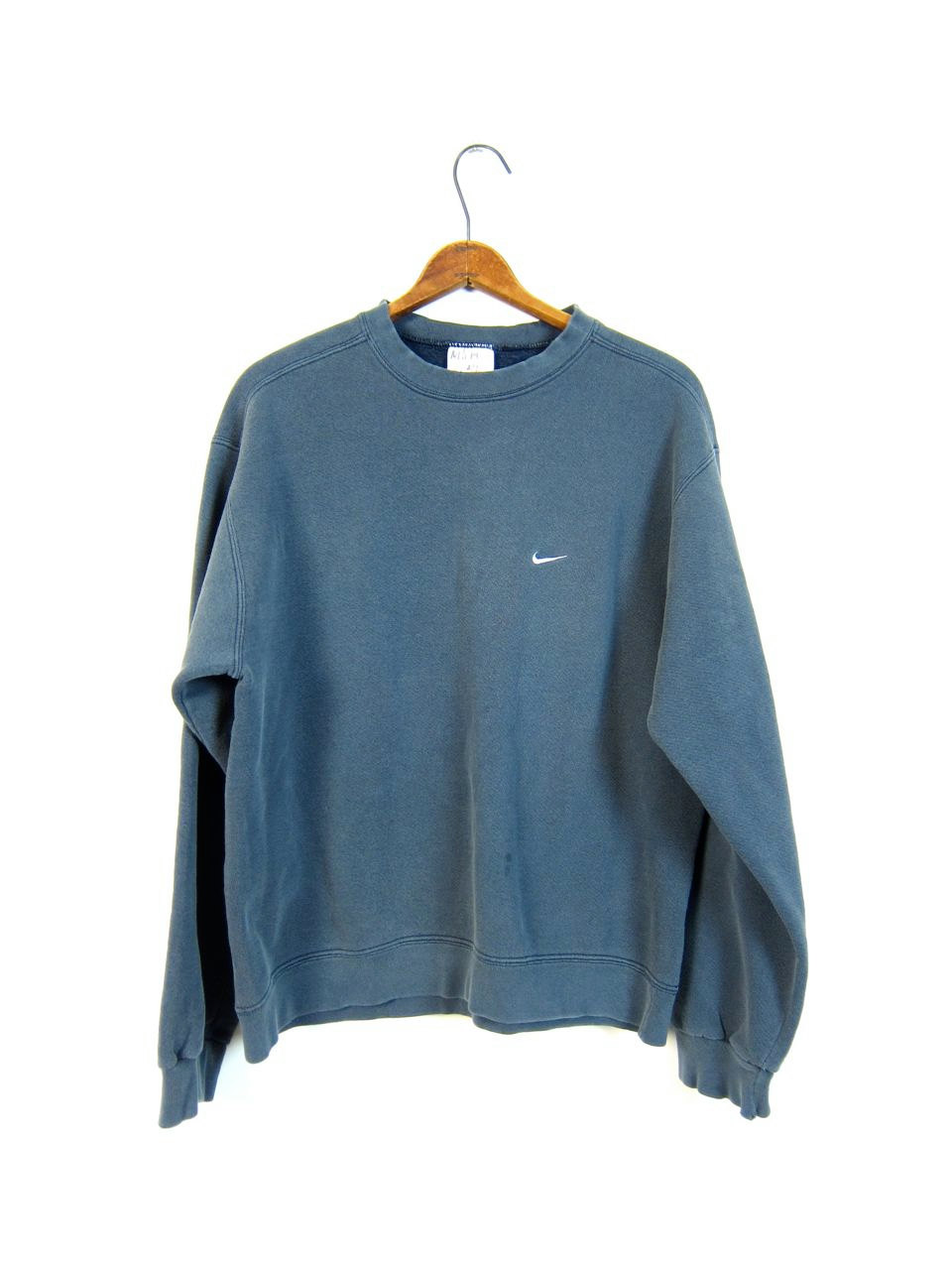 nett Faded Blue Nike Sweatshirt Washed Out Distressed