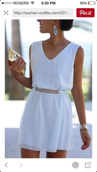 dress white dress pinterest