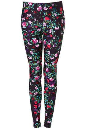 Floral leggings by mary katrantzou**