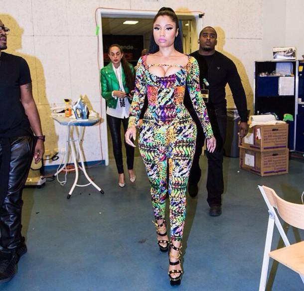40eae914fe1 jumpsuit versace suit versace jumpsuit versace nicki minaj nicki minaj