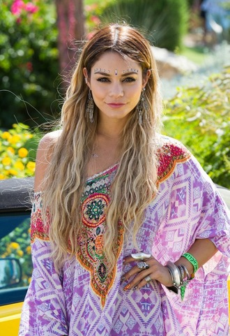 top vanessa hudgens jewels coachella boho