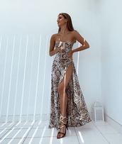 dress,beige dress