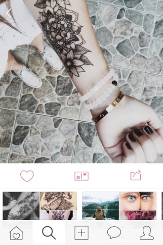 jewels bracelets white black matte fashion plastic