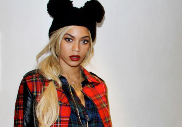 hat beyonce beanie mickey mouse