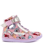 shoes,pink,colorful nikes,pastel color,guts,monsters,cute,high top sneakers,sneakers,girls sneakers,kicks,chicks with kicks,summer shoes,yellow,light blue,mint,pastel,dope,dope shit,spring outfits,spring,summer,new york city,india love,india westbrooks,urban pastel pink