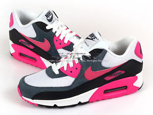 pink white and black air max