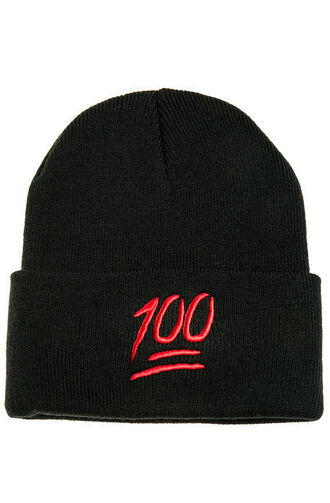 hat black red emoji emoji print emoji hat black hat 100 emoji