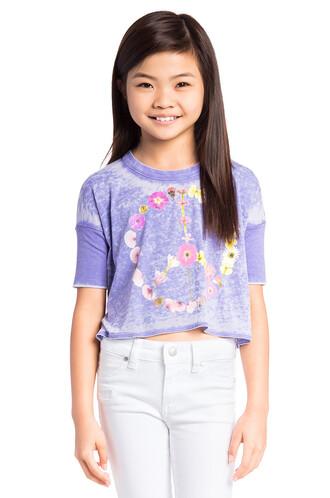 peace purple top