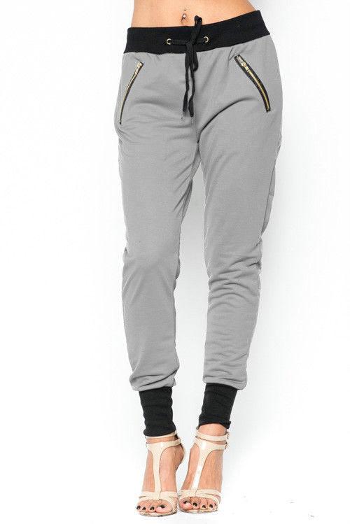 Lethalbeauty ? jogger zipper drawstring ankle cuff pants