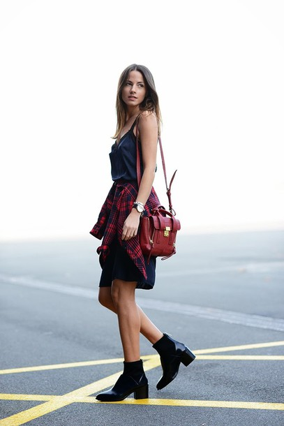 fashion vibe dress bag shirt shoes