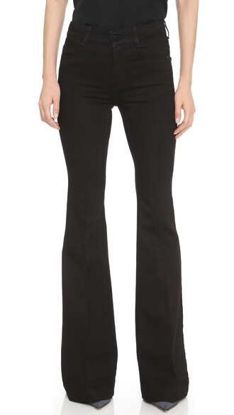 jeans flare jeans flare black