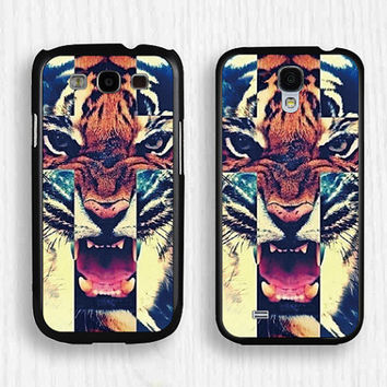 Samsung case,tiger case,GALAXY Note3 case,tiger Note2 case,samsung S4 case,samsung Galaxy S3 case,tiger S5 case,flower case,s008 on Wanelo