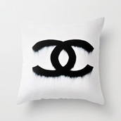 home accessory,pillow chanel,chanel,pillow
