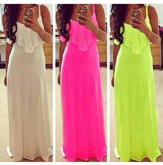 dress maxi dress maxi neon plus size plus size dress