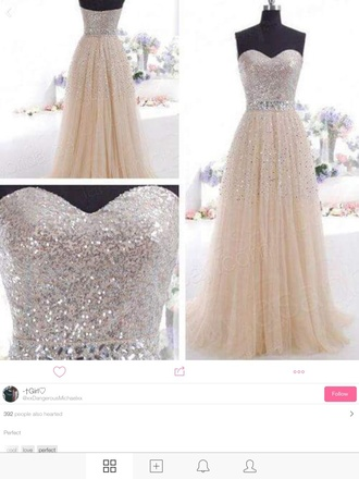 dress nude prom dress prom jewell diamonds long long dress strapless