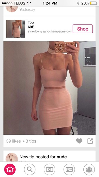 skirt pink bodycon skirt