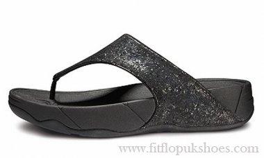 Womens Fitflop Ciela Black Sandals [FP-216] - $69.00 : FitflopUKShoes.com :: 100% High Quality