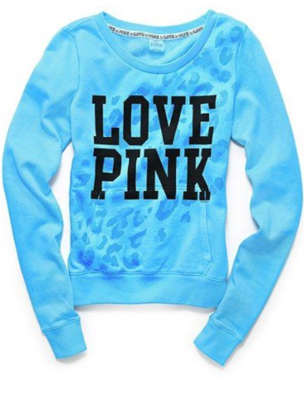 62% off Victoria's Secret Sweaters - LOVE PINK cheetah crew neck!