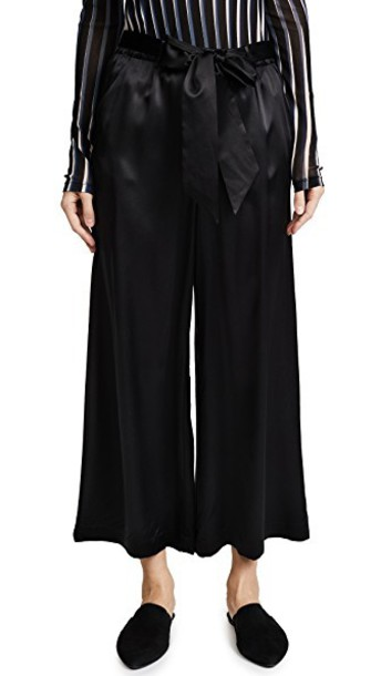 FRAME pants cropped noir