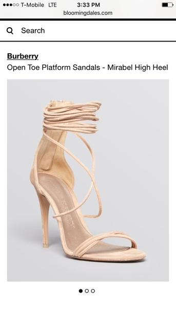 shoes burberry mirabell suede sandals