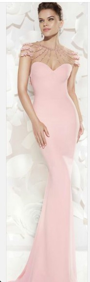 pink dress cute dress military ball dress need it please