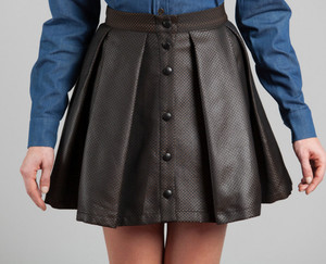 skirt black fashion sexy leather black skirt leather skirt