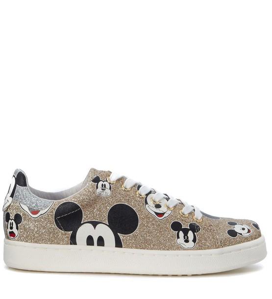 M.O.A. glitter shoes