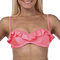 Fiesta frilled balconette bikini top - $35.99 - city beach