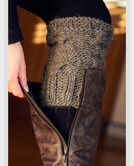 grey socks knitwear