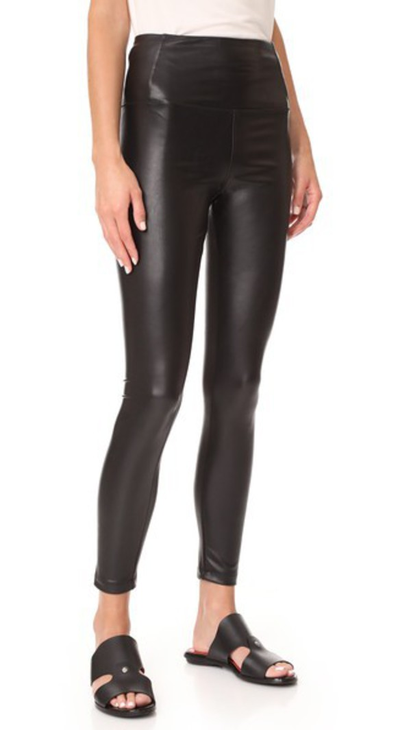David Lerner Elliot High Waist Leggings in black