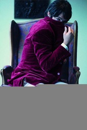 red jacket,velvet,paul mccartney,menswear,jacket