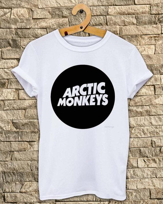 Arctic Monkeys shirt English indie rock band # T Shirt Unisex - Size S-M-L-XL
