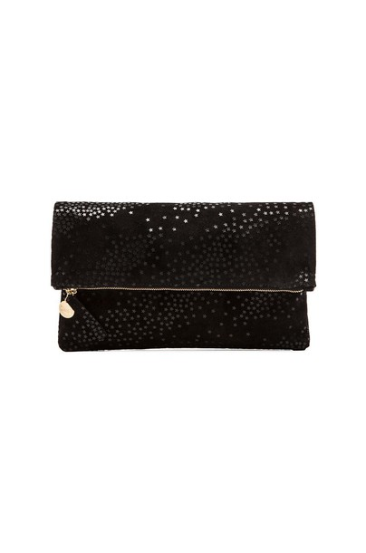Clare V. clutch black bag