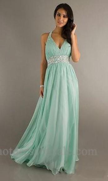 diamonds prom dress turquoise dress diamonte dress