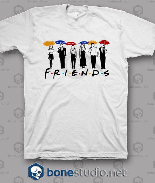 bf40de8c Friends Umbrella Design T Shirt - Adult Unisex Size S-3XL