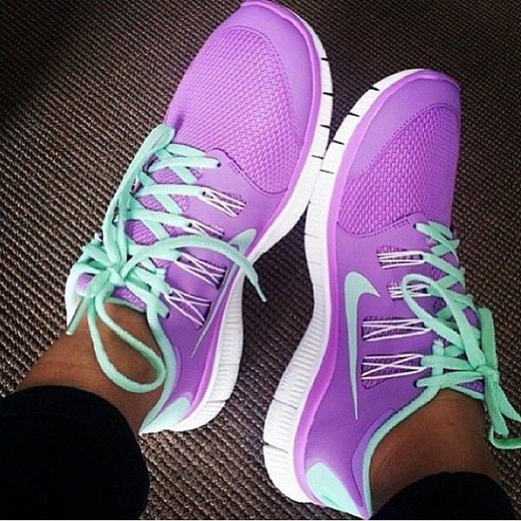 shoes nike nike free run nike running shoes purplenike nike free runs nike, free run, trainers, running, sport, athletic, white, grey, shoes, purple trainers