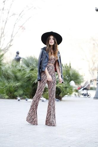 dulceida blogger top pants jacket hat