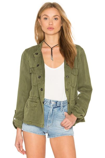 Sanctuary jacket green