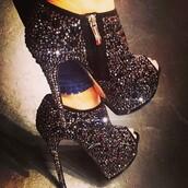 shoes,high heels,platform shoes,sparkle,stilettos,bootie