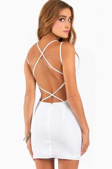 Cradle Back Dress - Tobi