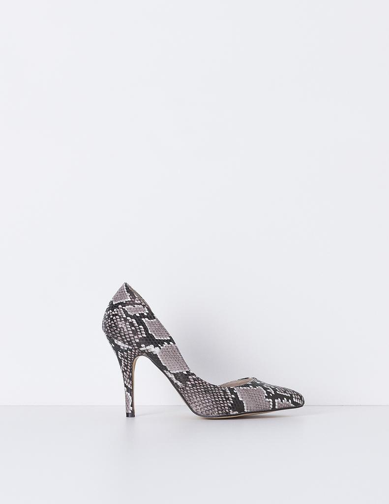 Zapato tacón asimétrico serpiente | SHOP ONLINE BLANCO.COM
