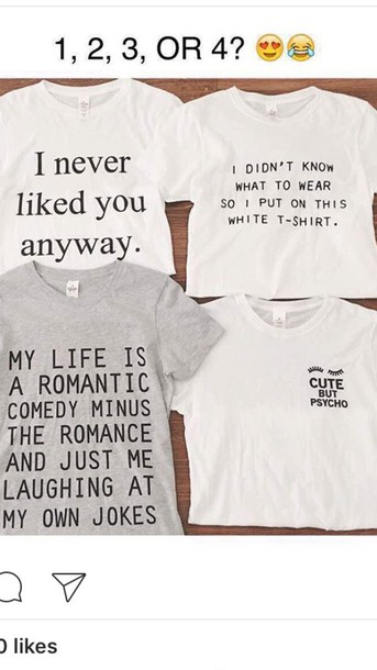 shirt quote on it quote on it tumblr aesthetic black and