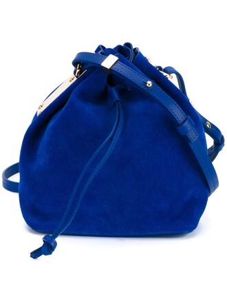 women bag shoulder bag blue