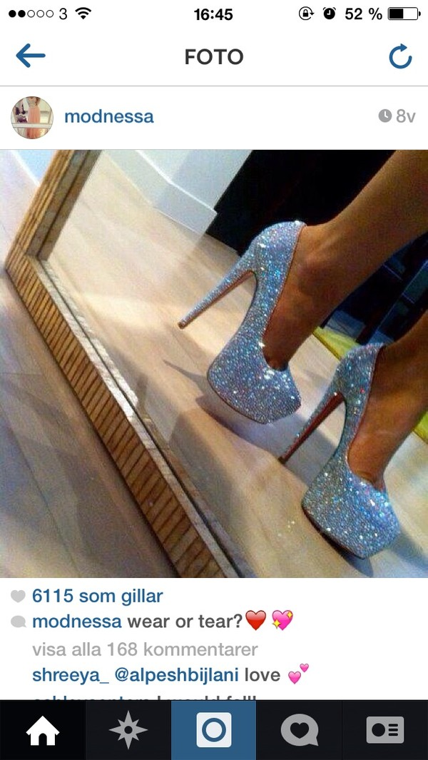 shoes high heels Sparkle shoes