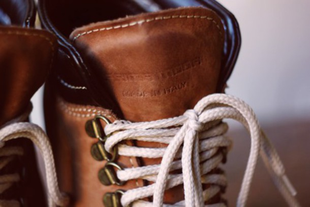 shoes vintage boots brown boots brown leather boots